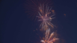 HD2009-7-2-9 fireworks effects Stock Video Footage