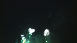 HD2009-7-3-2 fireworks Stock Video Footage
