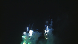 HD2009-7-3-2 fireworks Stock Video Footage