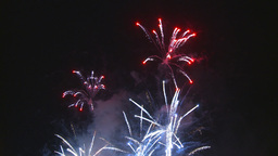 HD2009-7-3-4 fireworks Stock Video Footage