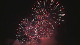 HD2009-7-3-6 fireworks Stock Video Footage