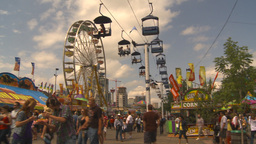 HD2009-7-3-34 midway montage Stock Video Footage
