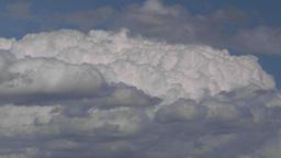 HD2009-7-8-18 cloudscape TL Stock Video Footage