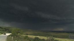 HD2009-7-8-20 thunderstorm TL Stock Video Footage