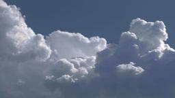 HD2009-7-8-24 cloudscape TL Stock Video Footage