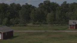 HD2009-7-10-11RC bar u ranch pan Stock Video Footage