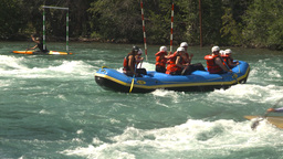 HD2009-7-13-5 whietwater raft river Footage