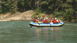 HD2009-7-13-7 whitewater raft river Footage