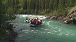 HD2009-7-13-9 whitewater raft river Footage