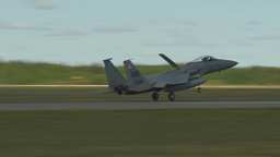 HD2009-6-1-3 F15 Eagle landing Footage