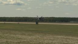HD2009-6-1-7 F18 hornet landing Footage