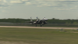 HD2009-6-1-13 F15 Eagle landing Footage