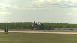 HD2009-6-1-25 slomo Alphajet landing Footage