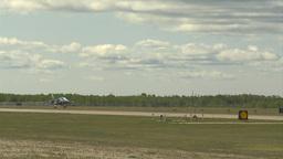 HD2009-6-1-27 slomo Alphajet landing Footage