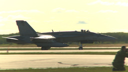 HD2009-6-2-6 Hornet taxi Stock Video Footage