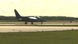 HD2009-6-2-14 alphajet taxi Stock Video Footage