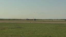 HD2009-6-2-18 F18 Hornet takeoff Stock Video Footage