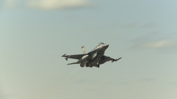 HD2009-6-2-31 F16 Falcon takeoff Stock Video Footage