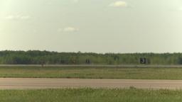 HD2009-6-2-33 F16 Falcon taxi x3 agressor Stock Video Footage