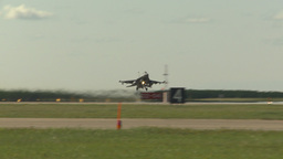 HD2009-6-2-35 F16 Falcon takeoff Stock Video Footage