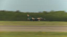 HD2009-6-2-39 F16 Falcon takeoff Stock Video Footage