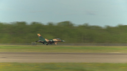 HD2009-6-2-39 F16 Falcon takeoff Stock Video Footage