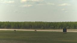 HD2009-6-2-54 F16 Falcon landing Stock Video Footage