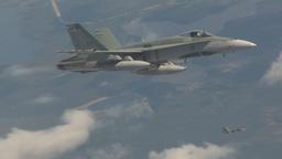 HD2009-6-3-5 aerial F18s Footage