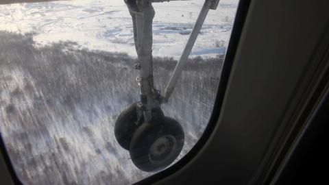 Plane gear Footage