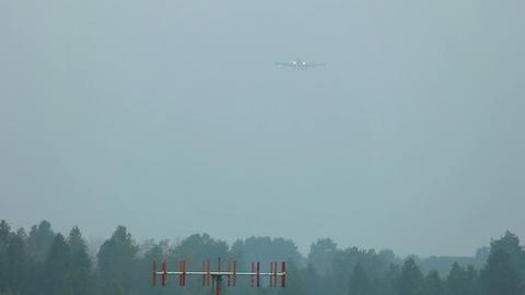 Landing Jumbo Footage