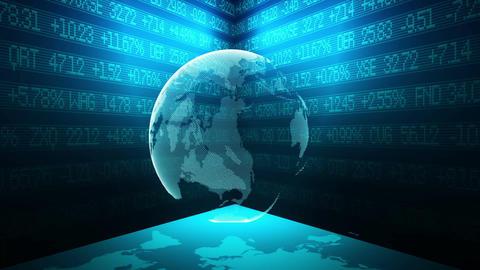 World globe background Animation
