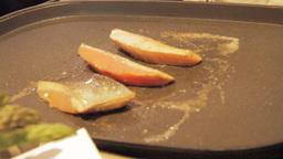 Grilling Salmon 2