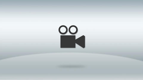 the photography style flip icon HD Animation