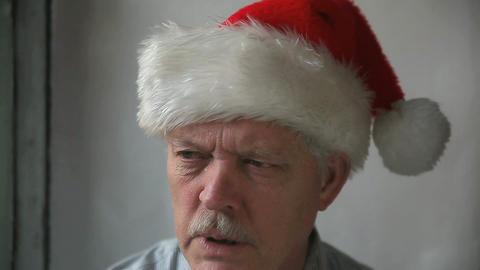 bah humbug Santa Footage