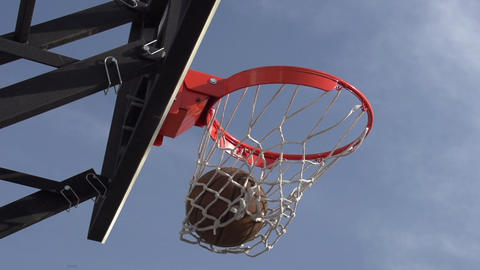 Basketball Championship stock footage