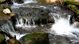 Small River Stream 01 stock footage