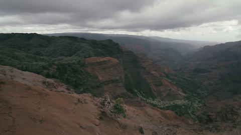 1080p, Waimea Canyon, Kauai, Hawaii Footage