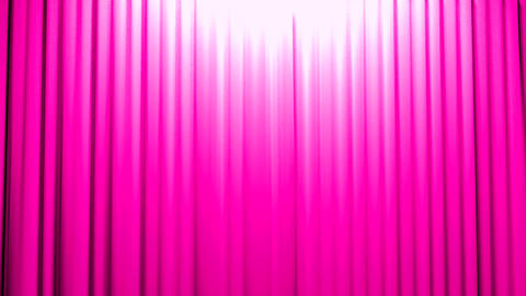Pink Curtains opening and closing stage theater ci Animation