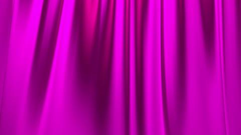 Silk satin elegant flowing background loop pink pu Animation