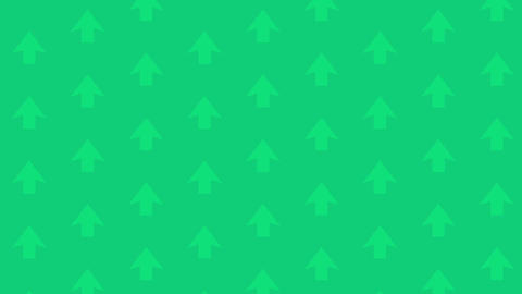 Background Green Up Arrow CG動画