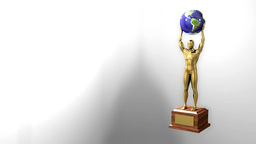 Trophy Award Ceremony Intro With Space For Title T stock footage