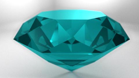 Sapphire topaz turquoise gemstone gem stone spinni Animation