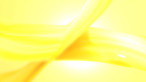 Yellow abstract background loop defocused stylish Animation