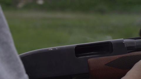 Reload Gun stock footage
