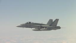 HD2009-6-3-20 aerial F18s Footage