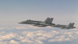 HD2009-6-3-22 aerial F18s Footage