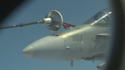 HD2009-6-3-27 aerial F18s refuel Footage