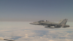 HD2009-6-3-29 aerial F18s Stock Video Footage