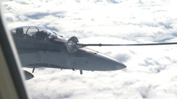 HD2009-6-3-31 aerial F18s refuel Footage