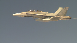 HD2009-6-3-33 aerial F18s Stock Video Footage